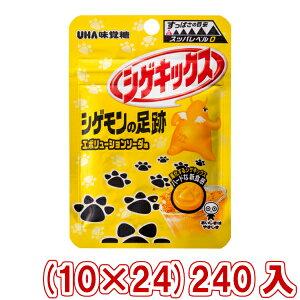 (本州送料無料) 味覚糖 シゲキックス シゲモンの足跡 エボリューションソーダ (10×24)240入 (Y12)(3ケース販売)