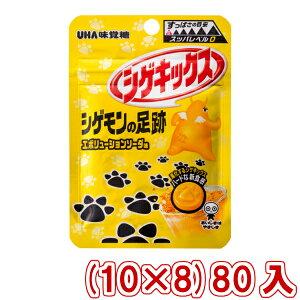 (本州送料無料) 味覚糖 シゲキックス シゲモンの足跡 エボリューションソーダ (10×8)80入 (Y80)(ケース販売)