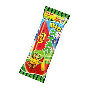 (本州一部冷凍送料無料) ロッテ BIGスイカバー 25入(冷凍)*