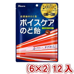 (本州送料無料) カンロ ボイスケアのど飴 個包装タイプ 70g (6×2)12入