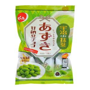 でん六 66g あずき甘納豆チョコ(抹茶) 12入 (Y80) (ケース販売)