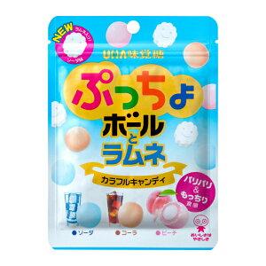 味覚糖 ぷっちょボールとラムネ 6入