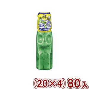 (本州送料無料) 森永 ラムネ メロンソーダ&シャリ玉 (20×4) 80入 (Y80)
