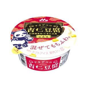 (本州一部冷凍送料無料) 森永乳業 ナタデココin杏仁豆腐カップ 18入(冷凍)*