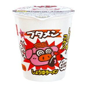 おやつカンパニー ブタメン(しょうゆ) 31g×15入(ミニカップラーメン 駄菓子)