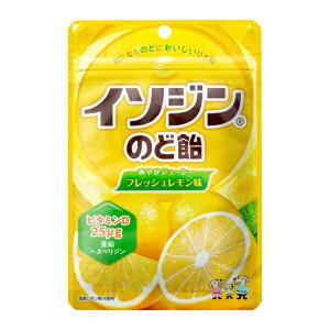 味覚糖 75g イソジン のど飴 フレッシュレモン袋 6入