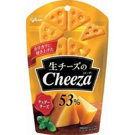江崎グリコ 生チーズのチーザ チェダーチーズ 10入