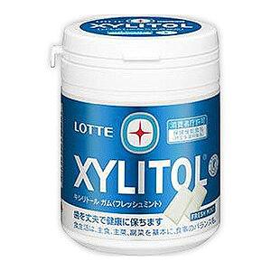 (本州送料無料)ロッテ キシリトールガム フレッシュミントボトル(6×2)12入