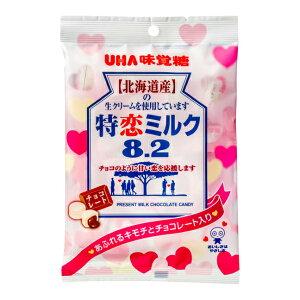 味覚糖 特恋ミルク8.2 チョコレート 6入 【ラッキーシール対応】@