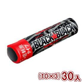(本州送料無料)ロッテ ブラックブラックタブレット ストロングタイプ(10×3)30入 (Y60)