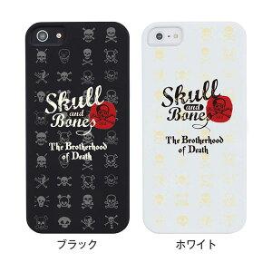iPhone5S iPhone5 iPhone ケース カバー スマホケース クリアケース iphone5s ハードケース イラスト ハードカバー クリア ミュージック スカル アンド ボーンズ 01-ip5-ze012