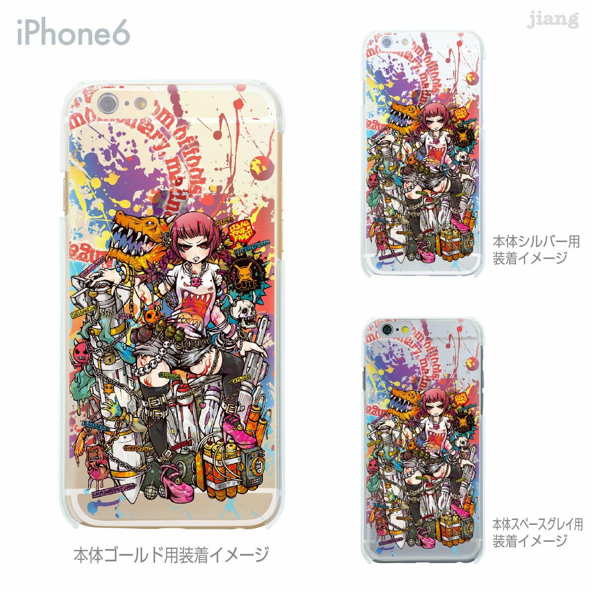 iPhoneX iPhone X ケース iPhone8 iPhone7ケース iPhone7 Plus iPhone6s iPhone6 Plus iphone ハードケース Clear Arts ケース カバー スマホケース クリアケース Project.C.K. 憤怒 11-ip6-ca0019-s