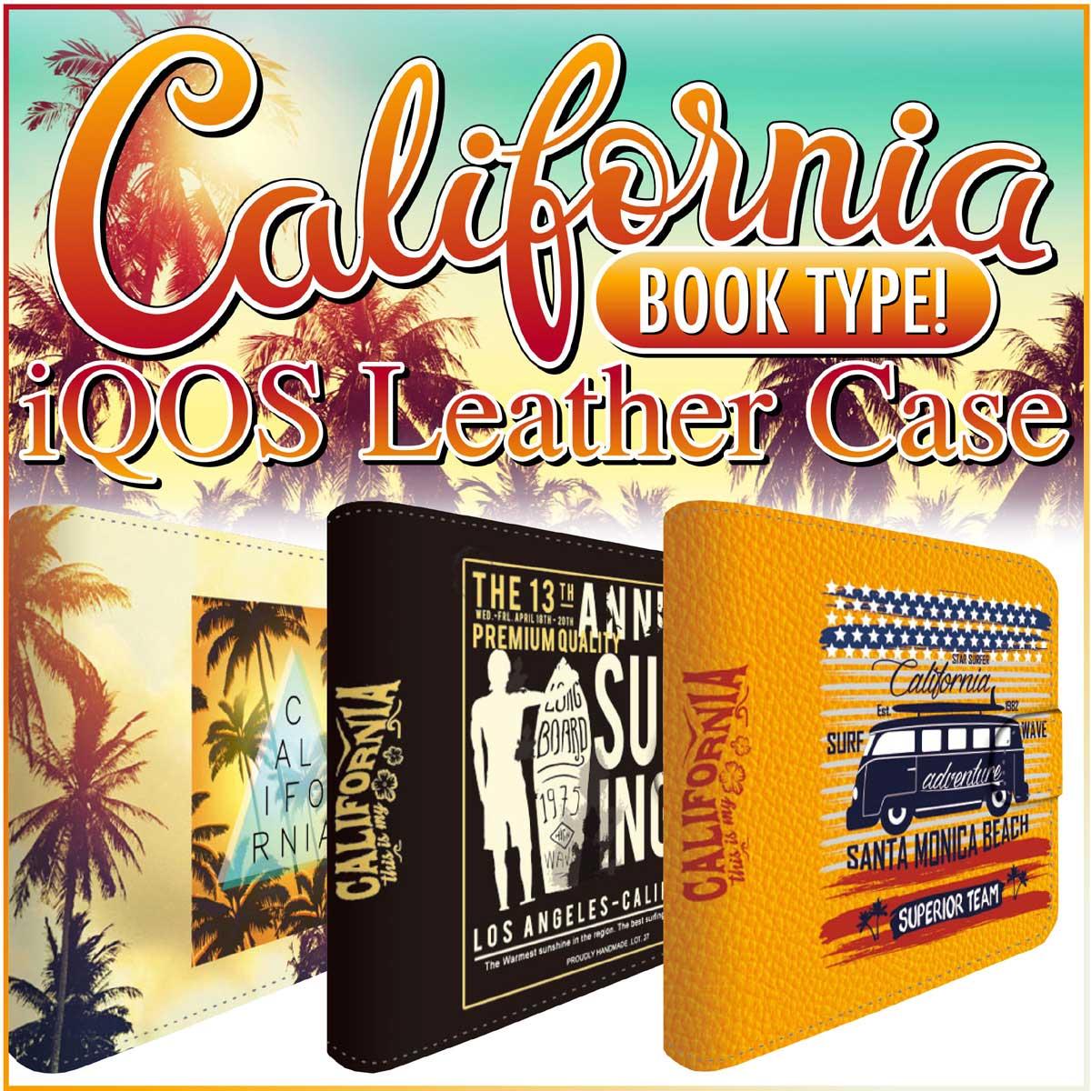 アイコスケース iQOS アイコス 専用 ケース カバー 合皮 レザー ケース ストラップ付 クリーナー ヒートスティック 収納 iCOSケース アイコスカバー iCOSカバー シンプル おしゃれ 革 人気 便利 電子たばこ カリフォルニア iq04-ds007-s