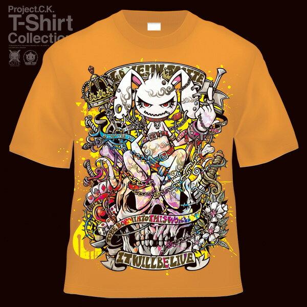 【Project.C.K】【プロジェクトシーケー】【Tシャツ】【キャラクター】【U.S.A.t.a.n.】 11-pck-0008