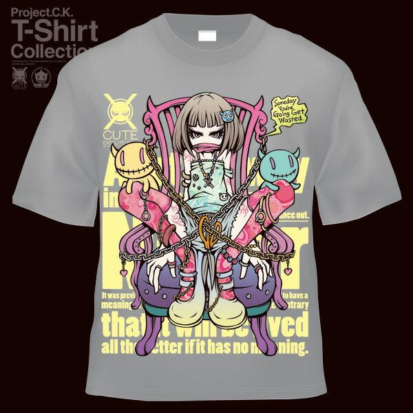 【Project.C.K】【プロジェクトシーケー】【Tシャツ】【キャラクター】【HELP】 11-pck-0013