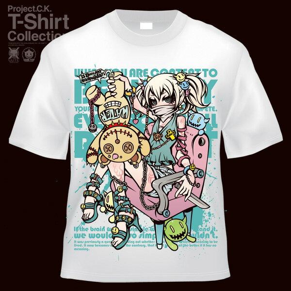 【Project.C.K】【プロジェクトシーケー】【Tシャツ】【キャラクター】【TEDDY】 11-pck-0021