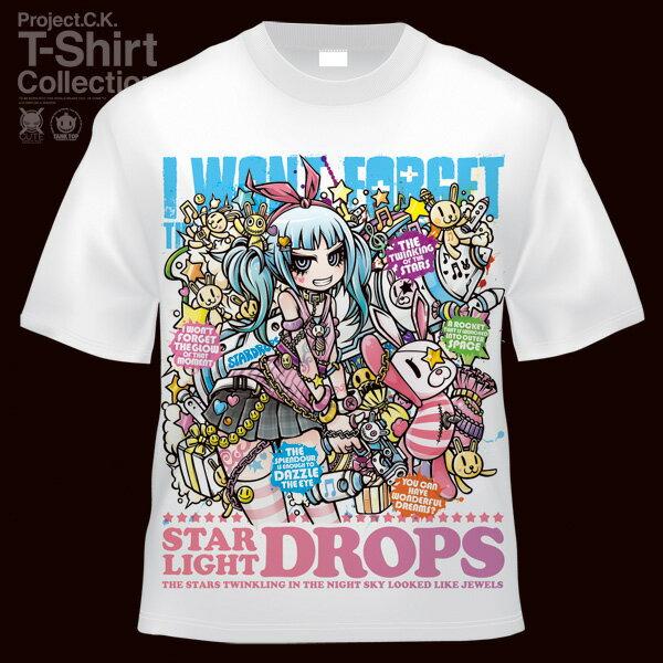 【Project.C.K】【プロジェクトシーケー】【Tシャツ】【キャラクター】【STARDROPS】 11-pck-0028