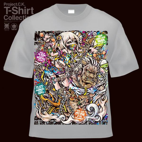 【Project.C.K】【プロジェクトシーケー】【Tシャツ】【キャラクター】【雷神】 11-pck-0037