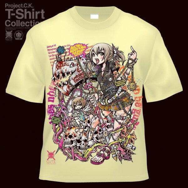 【Project.C.K】【プロジェクトシーケー】【Tシャツ】【キャラクター】【断罪】 11-pck-0040