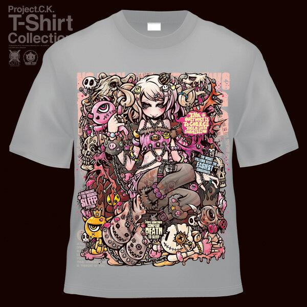 【Project.C.K】【プロジェクトシーケー】【Tシャツ】【キャラクター】【SNATCH OF SLEEP】 11-pck-0049