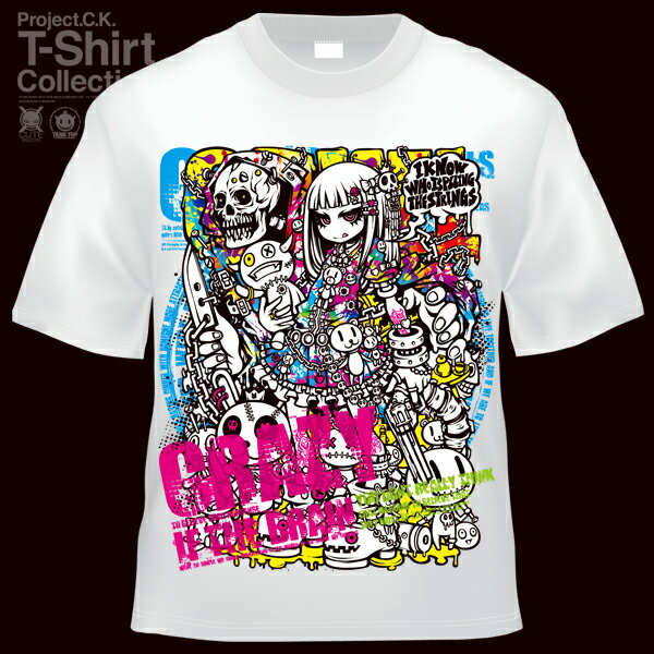 【Project.C.K】【プロジェクトシーケー】【Tシャツ】【キャラクター】【VAMP another ver.】11-pck-0053