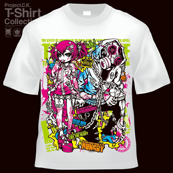 【Project.C.K】【プロジェクトシーケー】【Tシャツ】【キャラクター】【BLOODSUCCER another ver.】11-pck-0054