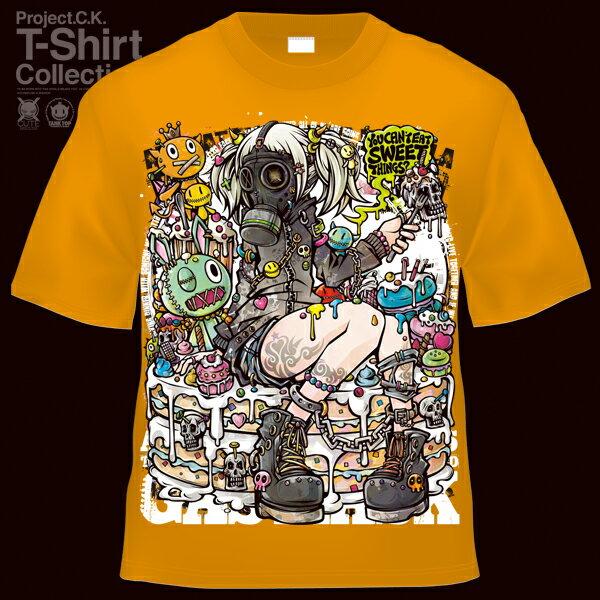 【Project.C.K】【プロジェクトシーケー】【Tシャツ】【キャラクター】【TEMPTATION】11-pck-0065