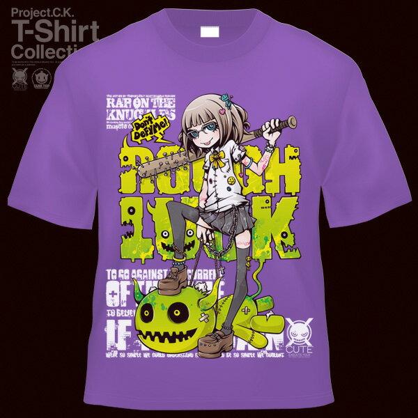 【Project.C.K】【プロジェクトシーケー】【Tシャツ】【キャラクター】【ROUGH LUCK】11-pck-0071
