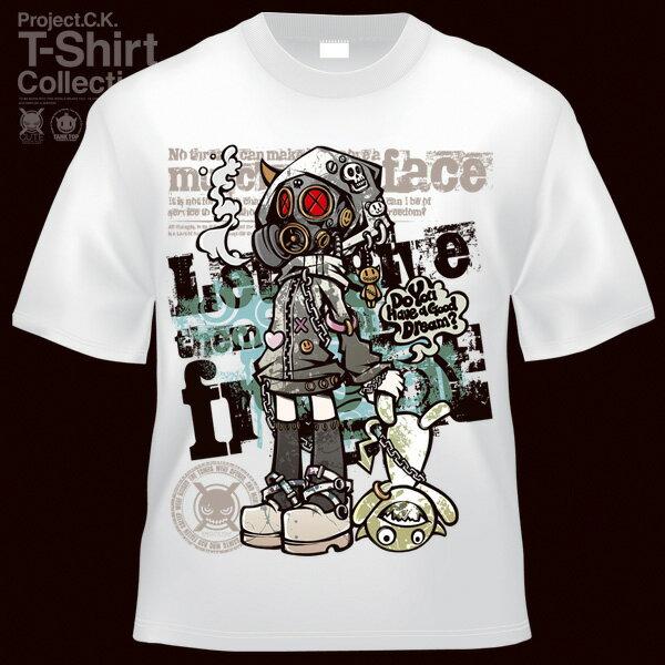 【Project.C.K】【プロジェクトシーケー】【Tシャツ】【キャラクター】【GAS】11-pck-0080