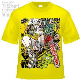 【Project.C.K】【プロジェクトシーケー】【Tシャツ】【キャラクター】【UnLOCKING SYSTEM-another-】11-pck-0084