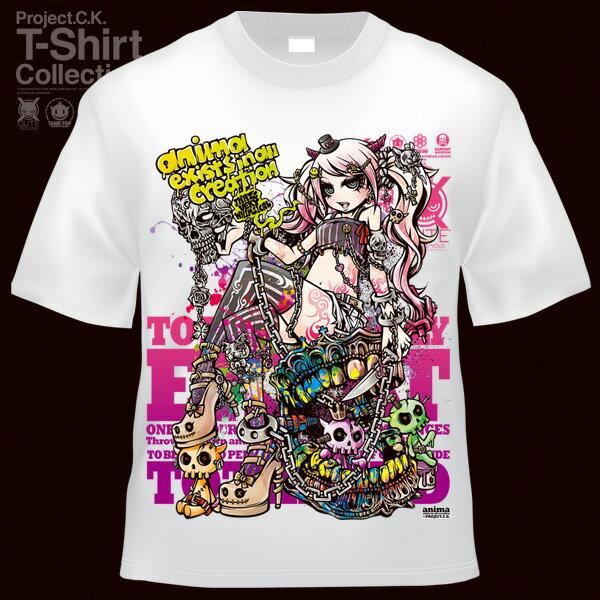 【Project.C.K】【プロジェクトシーケー】【Tシャツ】【キャラクター】【WHIMSICAL】11-pck-0086