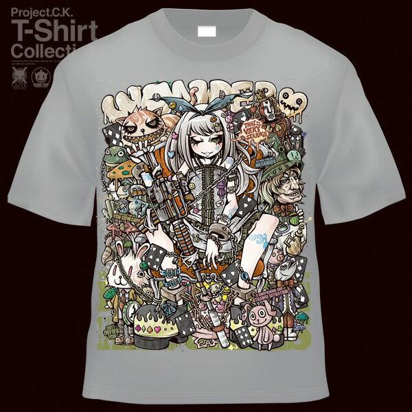 【Project.C.K】【プロジェクトシーケー】【Tシャツ】【キャラクター】【アリスダーク】11-pck-0103