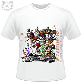 Little World リトルワールド Tシャツ メンズ イラスト オズの魔法使い 25-tm-0029