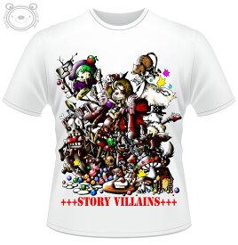 Little World リトルワールド Tシャツ メンズ イラスト 童話の悪党達 25-tm-0033