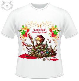 Little World リトルワールド Tシャツ メンズ イラスト 赤ずきんちゃん 25-tm-0038
