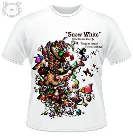 Little World リトルワールド Tシャツ メンズ イラスト Snow White 25-tm-0099