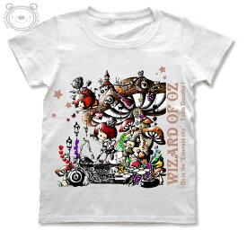 Little World リトルワールド Tシャツ レディース イラスト 不思議の国のアリス 25-tw-0029