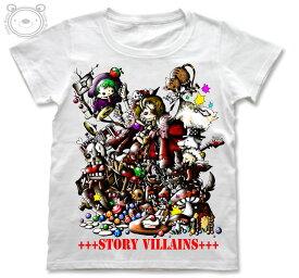 Little World リトルワールド Tシャツ レディース イラスト 童話の悪党達 25-tw-0033