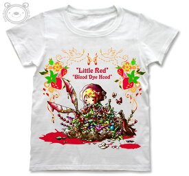 Little World リトルワールド Tシャツ レディース イラスト 赤ずきんちゃん 25-tw-0038