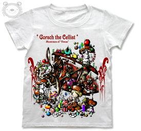 Little World リトルワールド Tシャツ レディース イラスト セロ弾きのゴーシュ 25-tw-0090