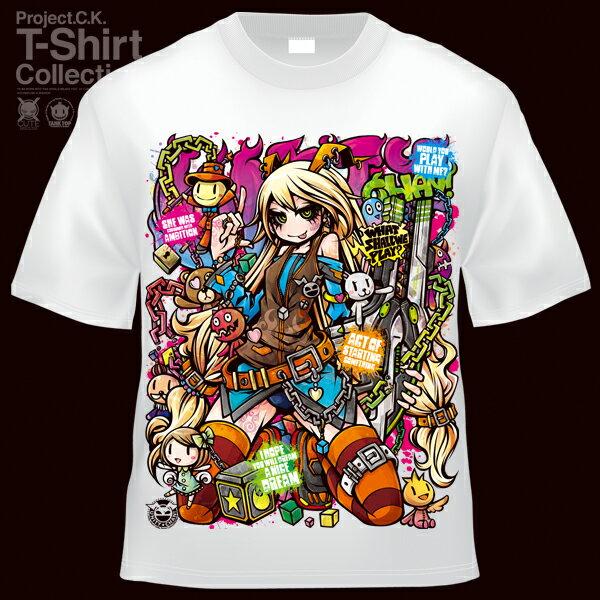 【Project.C.K】【プロジェクトシーケー】【Tシャツ】【キャラクター】【UNITY】 11-pck-u0022
