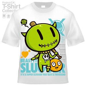 【Project.C.K】【プロジェクトシーケー】【Tシャツ】【キャラクター】【SLUGGER】11-pck-0061