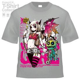 【Project.C.K】【プロジェクトシーケー】【Tシャツ】【キャラクター】【GET BACK!】11-pck-0072