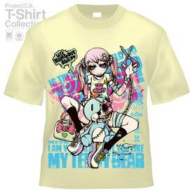 【Project.C.K】【プロジェクトシーケー】【Tシャツ】【キャラクター】【HANG OUT】11-pck-0090