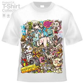 【Project.C.K】【プロジェクトシーケー】【Tシャツ】【キャラクター】【CONSTRUCTION】11-pck-0093