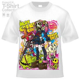 【Project.C.K】【プロジェクトシーケー】【Tシャツ】【キャラクター】【TOUGH SHIT】11-pck-0095
