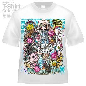 【Project.C.K】【プロジェクトシーケー】【Tシャツ】【キャラクター】【白ロリさん】11-pck-0101