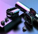 スマートウォッチ TWS bluetooth イヤホン 2in1 プロフェッショナル スマートブレスレット心拍計 血圧測定 多機能 腕時計