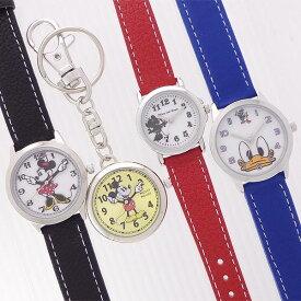 5672311f1b00 ディズニー 皮ベルト 腕時計 ウォッチ 懐中時計 キッズ レディス ウォッチ ポスト投函発送 MKN1 ミッキー ミニー