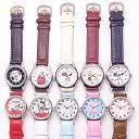 スヌーピー 革 ベルト 腕時計 キッズ レディス ウォッチ ポスト投函発送 SN 10カラー ピーナッツ キャラクター かわい…